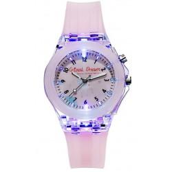 Meisjes horloge met lichtjes