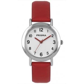 Rood Prisma Horloge