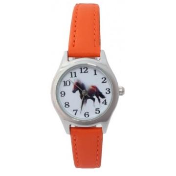 Kids Horloge Paarden