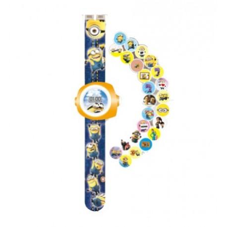 Minions Projectie Horloge